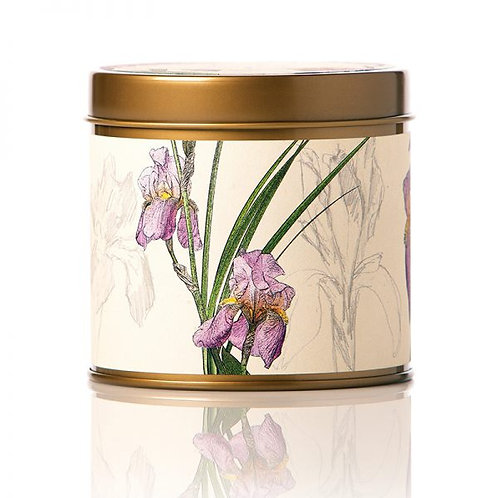 Rosy Rings Soy Tin Candle Iris Moon 50hr