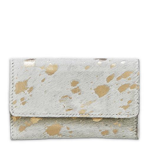 Mer-Sea Gold Splash Cowhide Belt Bag