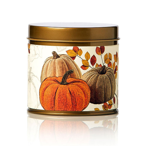 Rosy Rings Soy Tin Candle Pumpkin Cardamom 50hr