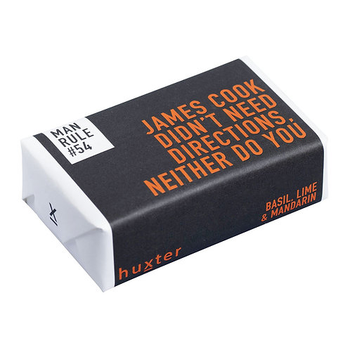 HUXTER BAR SOAP - JAMES COOK DIDN'T NEED DIRECTIONS