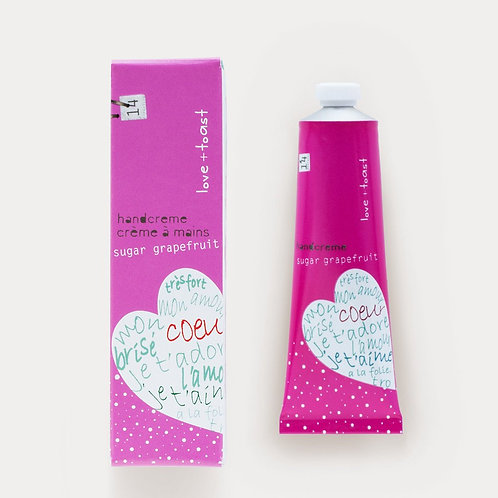 Love & Toast Sugar Grapefruit Handcream