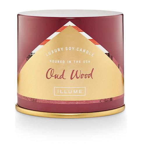 Illume Vanity Tin Oud Wood