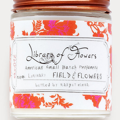 Library Of Flowers - Field & Flower Luminary