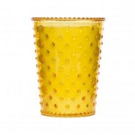 Simpatico - Hobnail Glass Candle Meyer Lemon 33