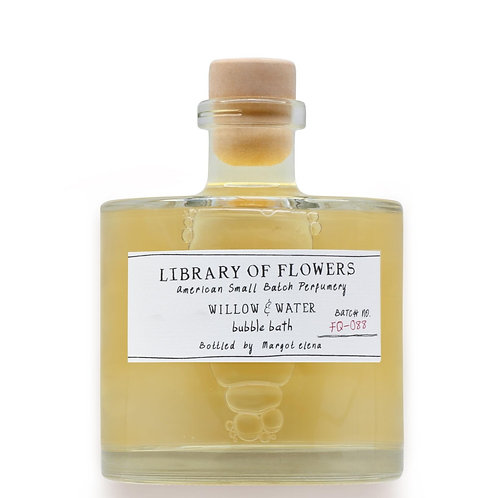 Library of Flowers Willow & Water Perfumed Bubble Bath