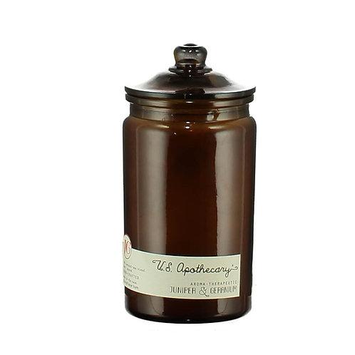 U.S Apothecary - Juniper & Geranium - Candle
