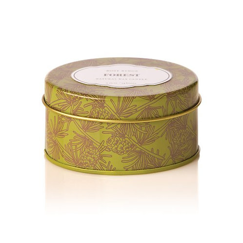 Rosy Rings Travel Tin Candle Forest