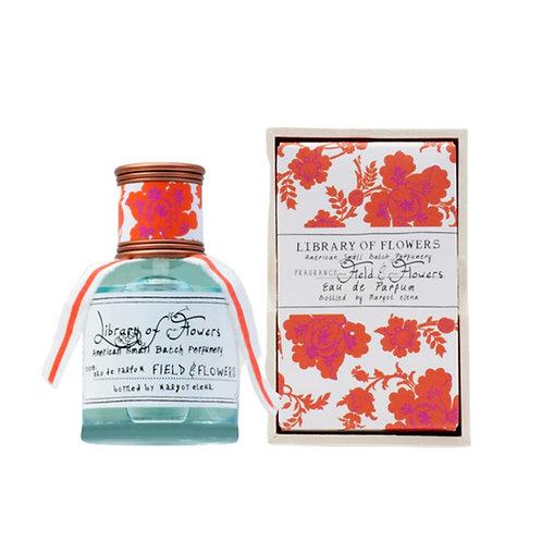 Library Of Flowers - Field & Flowers Eau De Parfum 50ml