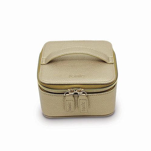 Tonic Luxe Jewellery Cube Gold Metallic