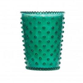 Simpatico - Hobnail Glass Candle Marine 91