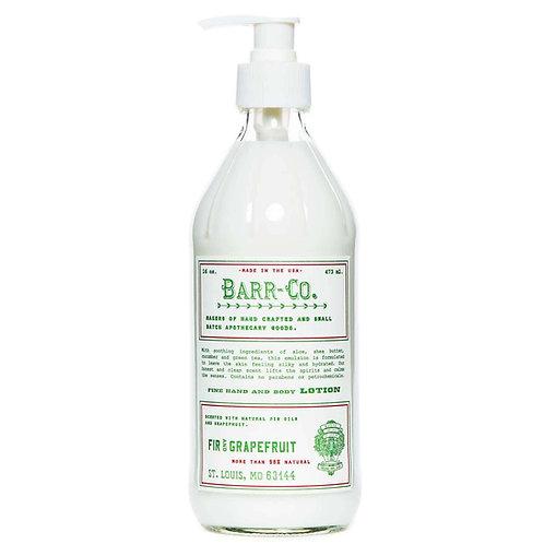 Barr-Co - Fir & Grapefruit Hand & Body Lotion
