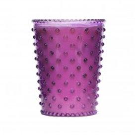 Simpatico - Hobnail Glass Candle Lilac 41