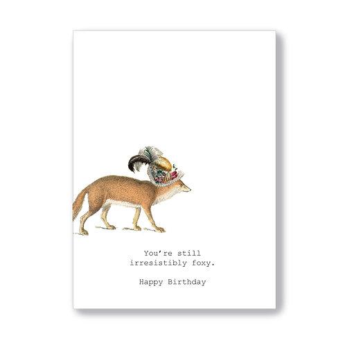 TokyoMilk - Card -  Still Irresistibly Foxy