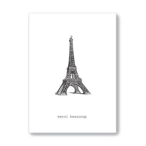TokyoMilk - Card -  Merci Beaucoup