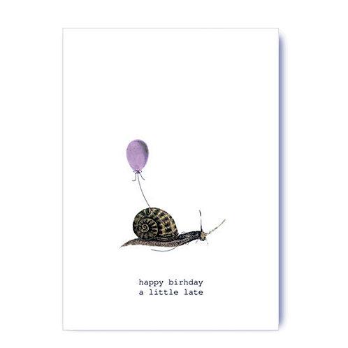 TokyoMilk - Card -  Happy Birthday A Little Late