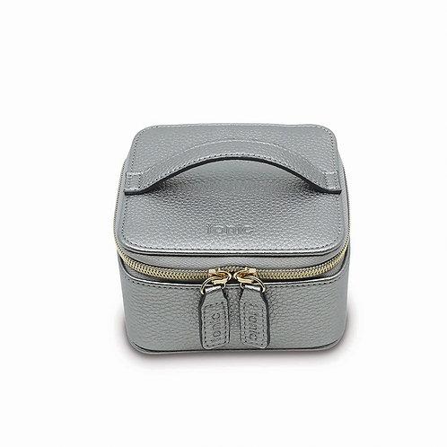 Tonic Luxe Jewellery Cube Silver Metallic