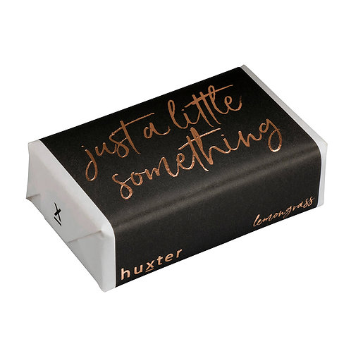 HUXTER BAR SOAP - Just a Little something Black/Gold