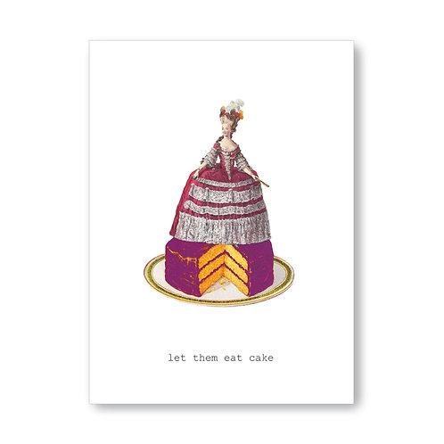 TokyoMilk - Card -  Let Them Eat Cake