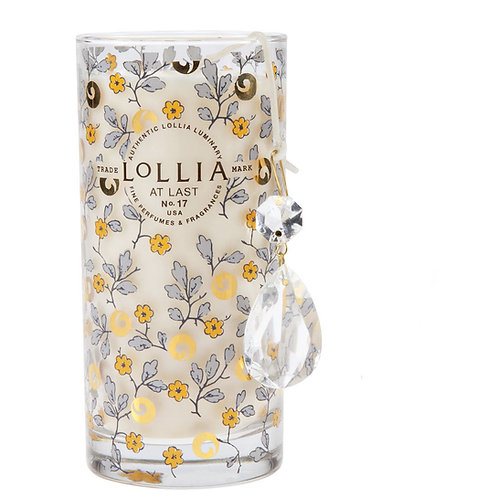 Lollia Petite Perfumed Luminary Candle At Last