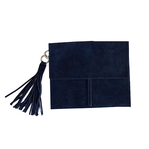 Mer-Sea Navy Suede ipad / Notebook Case