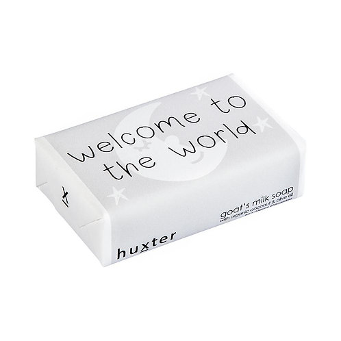 HUXTER BAR SOAP - WELCOME TO THE WORLD