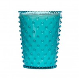 Simpatico - Hobnail Glass Candle Cucumber & Gin 74