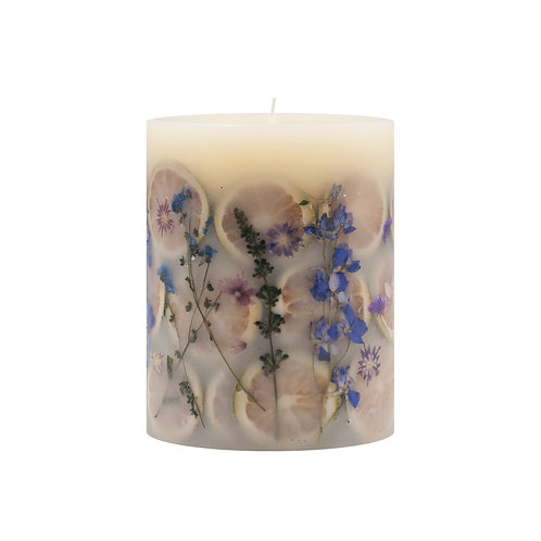Rosy Rings Botanical Candle -Roman Lavender