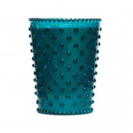 Simpatico - Hobnail Glass Candle Spanish Lime 14