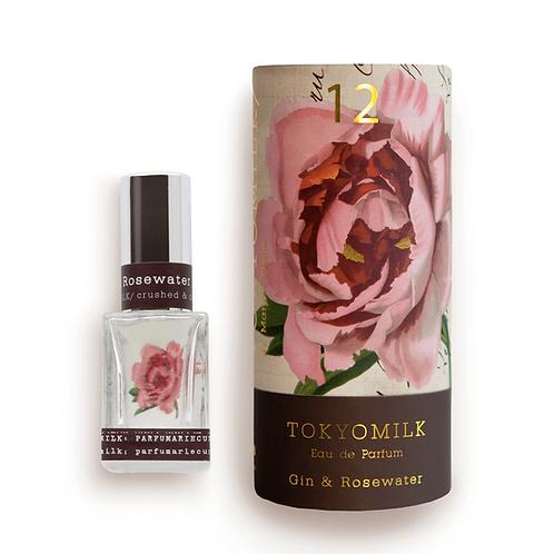 TokyoMilk Parfum  No.12 Gin & Rosewater