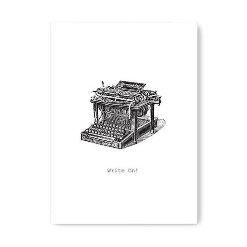 TokyoMilk - Card -  Write On (Blank)