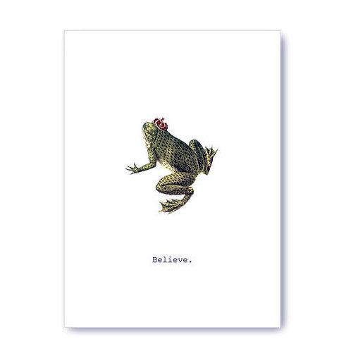 TokyoMilk - Card -  Believe (Frog)