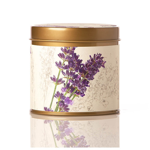 Rosy Rings Soy Tin Candle Roman Lavender 50hr