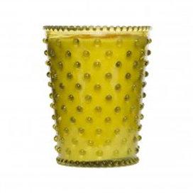 Simpatico - Hobnail Glass Candle Fir Grapefruit No.24