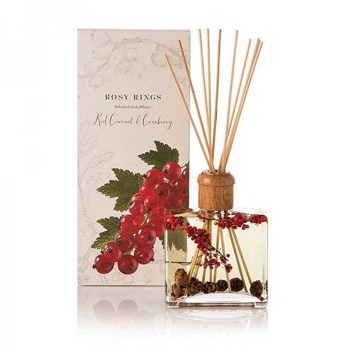 Rosy Rings Reed Diffuser - Red Current & Cranberry
