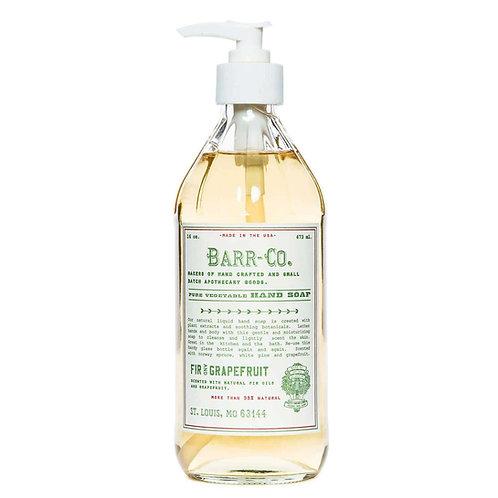 Barr-Co - Fir & Grapefruit Liquid Soap