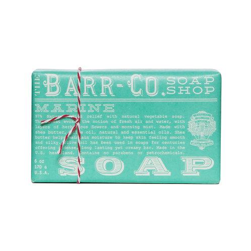 Barr-Co Soap Shop Bar Soap Marine