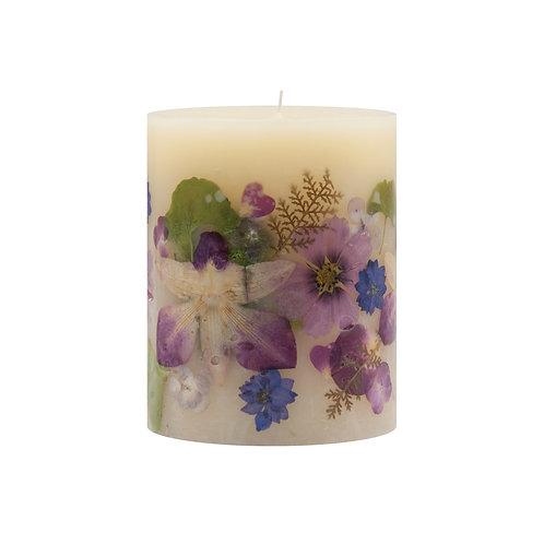 Rosy Rings Botanical Candle - Iris Moon
