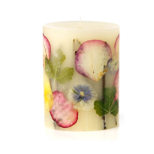 Rosy Rings Botanist Botanical Candle - Viola Queen Charlotte