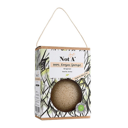 Not Just A Sponge - Green Tea Konjac Face Sponge
