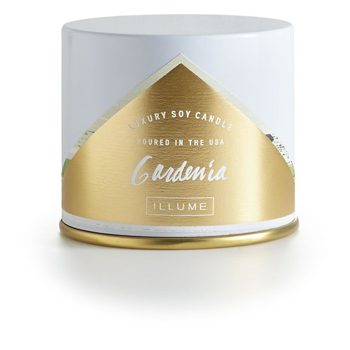 Illume Vanity Tin Gardenia Candle