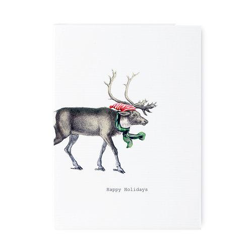 TokyoMilk - Card -  Happy Holidays Reindeer