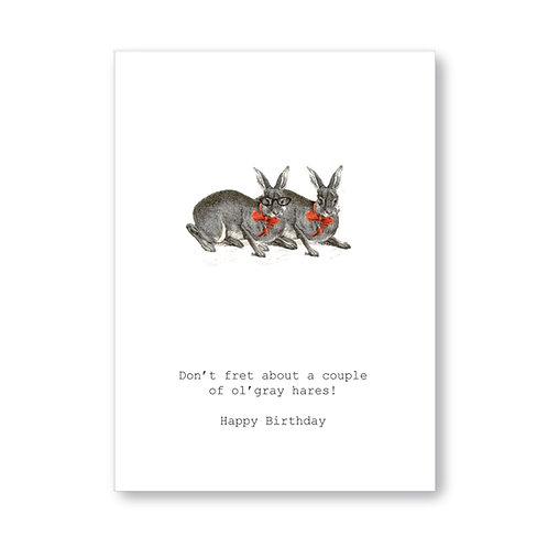 TokyoMilk - Card -  Grey Hares