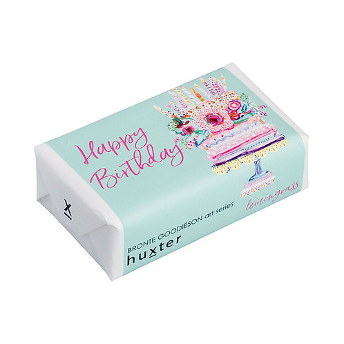 copy of HUXTER BAR SOAP - Happy Birthday Cake Solo