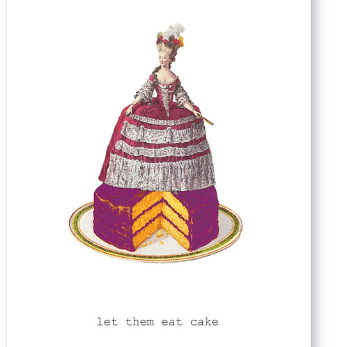 Tokyomilk Greeting Card - Let Them Eat Cake