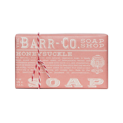 Barr-Co - Soap Shop Bar Soap Honeysuckle