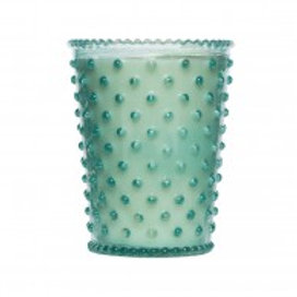 Simpatico - Hobnail Glass Candle Skye 79