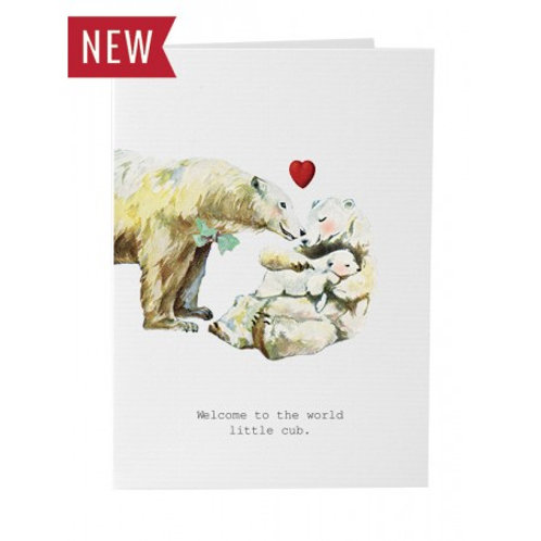 TokyoMilk - Card -  Welcome To The World Little Cub