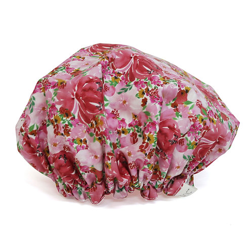 Tonic Shower Cap Flourish Pink