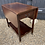 Thumbnail: Vintage Mahogany Two Tier Drop Leaf Extending Tea Trolley / Drinks Trolley