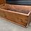 Thumbnail: Charming Victorian Pine Cradle Crib / Rustic Trug Basket